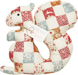 Tilda Materialset Patchwork Squirrel Eichhörnchen
