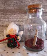 Geschenkengel im Glas Weihnachtlich