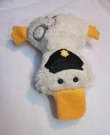 Kuschelente Polizist/Polizei