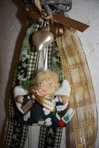 Weihnachtsgirlande mit Schutzengel