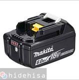 マキタ リチウムイオンバッテリー18V 6.0Ah BL1860B(箱なし)