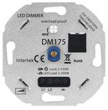 LED DIMMER 3-200W UNIVERSEEL (aangeraden voor lagere wattages) DM175