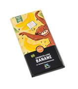 Bio - Cremeschokolade Banane 100g