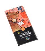 Bio - Cremeschokolade Erdbeer 100g