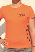 T-shirt ARDI Femme Orange