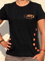 T-shirt ARDI Femme Noir