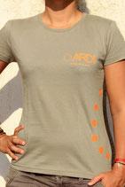 T-shirt ARDI Femme Kaki