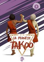 Illustration de la couverture du tome 5 de La Planète Takoo
