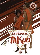 Illustration de la couverture du tome 2 de La Planète Takoo