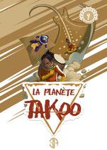 Illustration de la couverture du tome 4 de La Planète Takoo