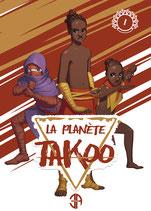 Illustration de la couverture du tome 1 de La Planète Takoo