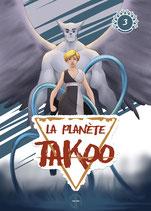 Illustration de la couverture du tome 3 de La Planète Takoo