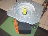 Große Adapterplatte für die Getriebeglocke 15mm