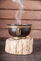 Ganeshaschale aus Kupfer