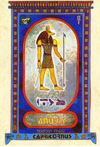 Zodiaque Dieux de l'Ancienne Egypte, Capricorne, ZOD.E22