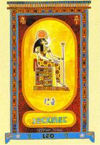Zodiaque Déesses de l'Ancienne Egypte, Lion, ZOD.E5