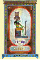 Zodiaque Déesses de l'Ancienne Egypte, Capricorne, ZOD.E10