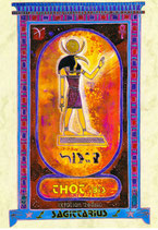 Zodiaque Dieux de l'Ancienne Egypte, Sagittaire, ZOD.E21