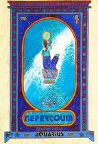 Zodiaque Dieux de l'Ancienne Egypte, Verseau, ZOD.E23