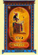 Zodiaque Déesses de l'Ancienne Egypte, Scorpion, ZOD.E8