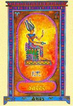 Zodiaque Déesses de l'Ancienne Egypte, Bélier, ZOD.E1