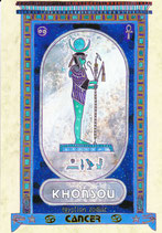 Zodiaque Dieux de l'Ancienne Egypte, Cancer, ZOD.E16