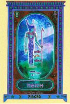 Zodiaque Déesses de l'Ancienne Egypte, Poisson, ZOD.E12