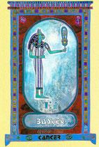 Zodiaque Déesses de l'Ancienne Egypte, Cancer, ZOD.E4