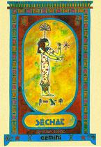 Zodiaque Déesses de l'Ancienne Egypte, Gémeaux, ZOD.E3