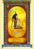 Zodiaque Déesses de l'Ancienne Egypte, Vierge, ZOD.E6