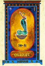 Zodiaque Dieux de l'Ancienne Egypte, Scorpion, ZOD.E20