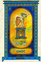 Zodiaque Dieux de l'Ancienne Egypte, Gémeaux, ZOD.E15