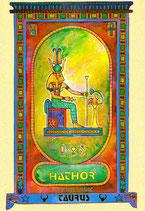 Zodiaque Déesses de l'Ancienne Egypte, Taureau, ZOD.E2