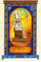 Zodiaque Dieux de l'Ancienne Egypte, Vierge, ZOD.E18