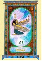 Zodiaque Déesses de l'Ancienne Egypte, Balance, ZOD.E7