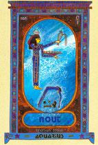 Zodiaque Déesses de l'Ancienne Egypte, Verseau, ZOD.E11
