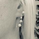 "925 Sterling Silber Ohrhänger ""Paris"""