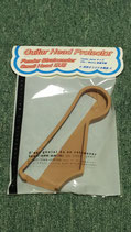 Guitar Head Protector Fender Stratocaster Small head専用 ウッド色