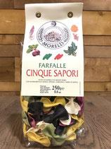 Morelli - Farfalle 5 saveurs - 250g
