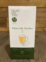 Boite de 100 filtres à thé Taille S