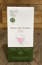 Boite de 100 filtres à thé taille XS