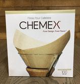 Boite de 100 filtres pour Chemex 6-8 tasses
