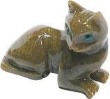 Speckstein Katze