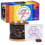 Aromafume 7 Chakra Testset