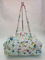 クラッチバッグ -colorful dot-