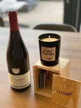 Coffret Bougie/vin