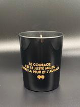 """""""Le courage est le juste milieu entre la peur et l'audace"""""""