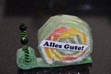 Alles Gute Schnecke grün (gross)