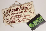 Friendship -  Woodsign