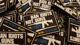 Patch - Band Idiots Not Guns - EXKLUSIVES EIGENDESIGN